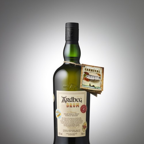 002 Ardbeg Drum bottle - front + necktag_Grey (1)